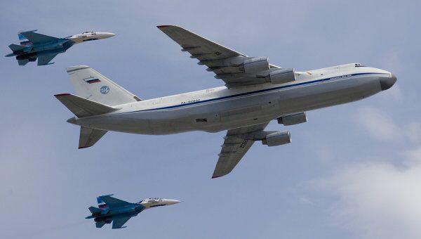 Стратегический военно-транспортный самолет Ан-124 Руслан. Архивное фото