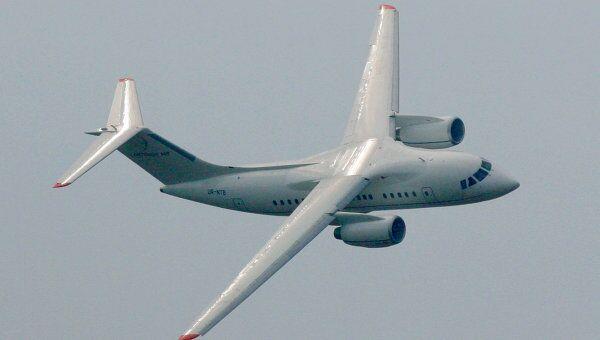 Полет самолета Ан - 148