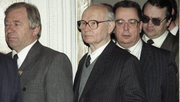 Обвиняемые по делу ГКЧП