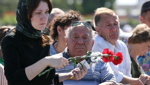 Сороковой день со дня крушения теплохода Булгария