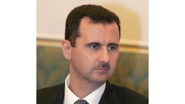 Президент Сирии Башар Асад. Архив
