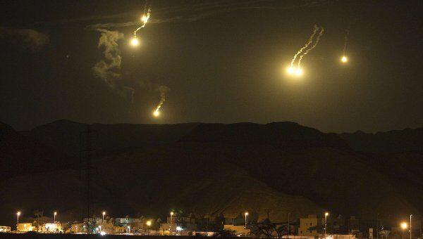 Палестинские боевики выпустили ракеты по югу Израиля
