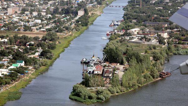 Виды Астрахани. Архивное фото