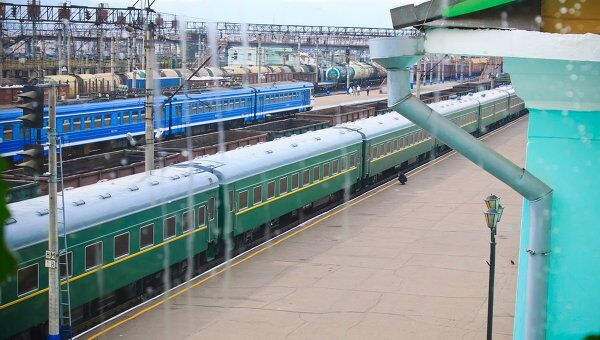 Литерный поезд главы Северной Кореи Ким Чен Ира прибыл в Бурятию