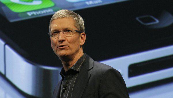 Операционный директор Apple Тим Кук