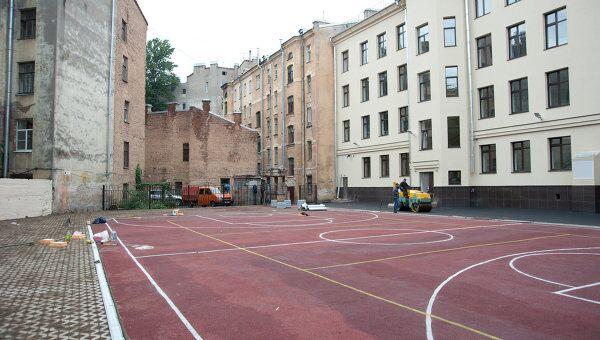 Заканчивается ремонт общеобразовательной школы в Петербурге