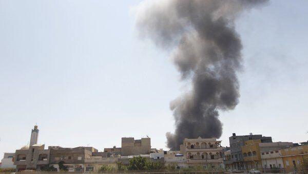 Ситуация в Триполи 25 августа 2011 г
