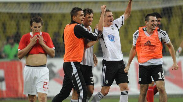 Футболисты Легии