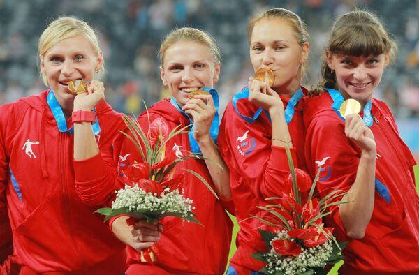Сборная России по легкой атлетике