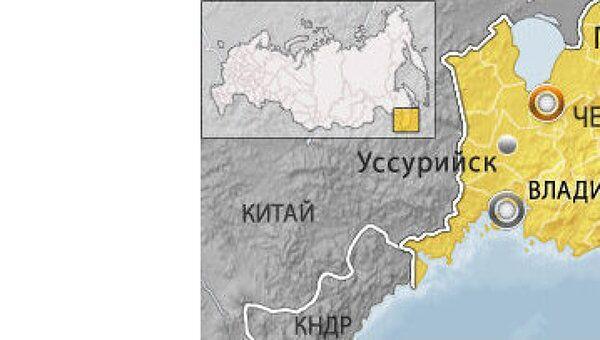 Ми-24 упал в Приморье, один человек погиб
