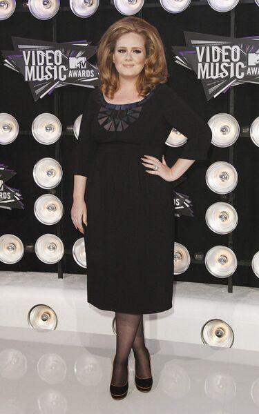 Певица Адель на вручении наград MTV Video Music Awards