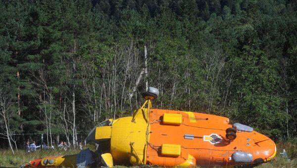 Крушение вертолета Ми-8 в Карачаево-Черкесии