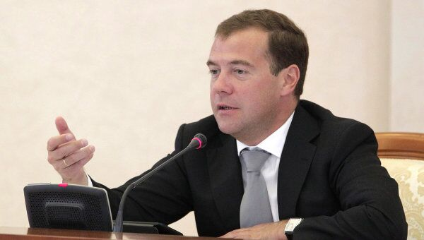 Президент РФ Д.Медведев провел заседание комиссии по нацпроектам и демографии