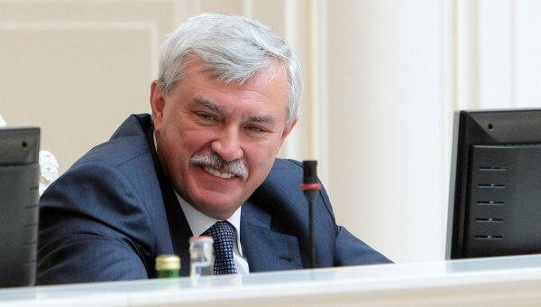 Губернатор Петербурга Георгий Полтавченко