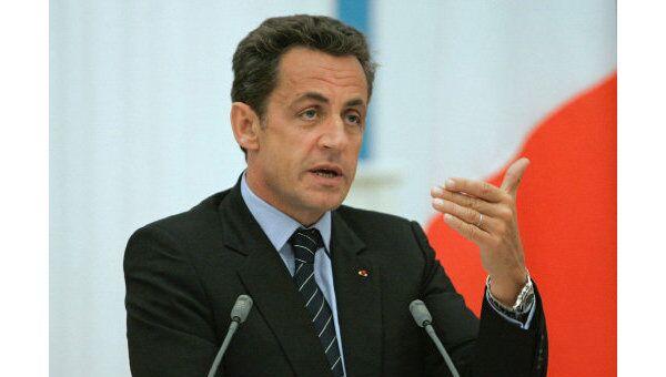 Президент Франции Николя Саркози. Архив