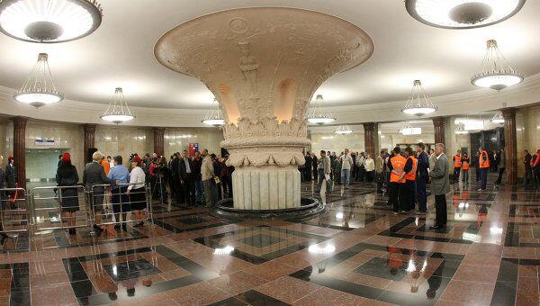 После ремонта открылся выход в город со станции Курская Кольцевой линии