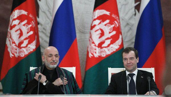 Пресс-конференция по итогам российско-афганских переговоров