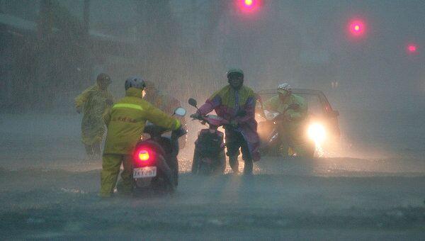 Тайфун на Тайване