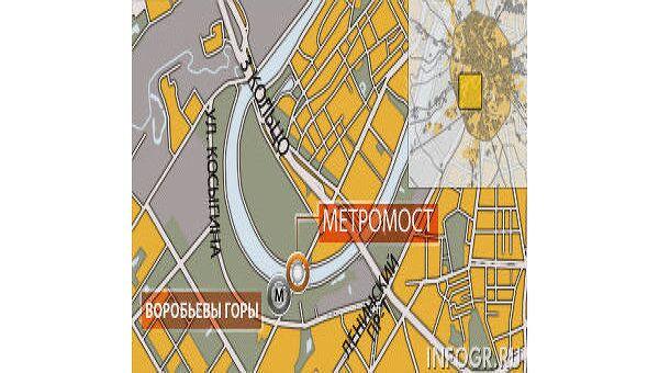 Станция московского метро Воробьевы горы закрыта до утра