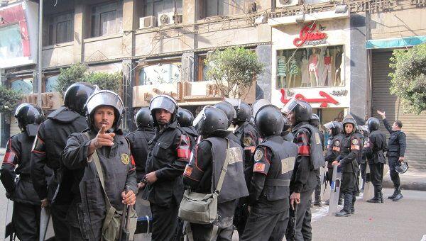 Полиция в Египте. Архив