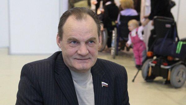 Председатель Всероссийского общества инвалидов Александр Ломакин-Румянцев