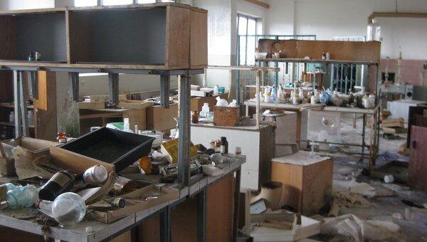 Ядохимикаты на заводе Кристалл в Курской области