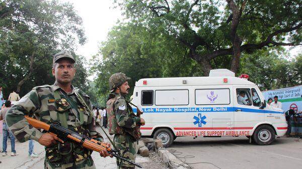 Взрыв у здания Высокого суда Индии в Нью-Дели