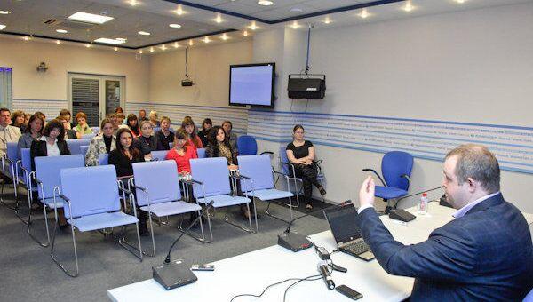 Участники Школы инновационной журналистики в Томске