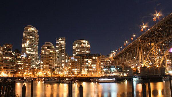Ночной Ванкувер. Архив