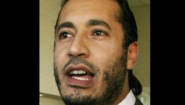 Сын Каддафи Саади. Архивное фото