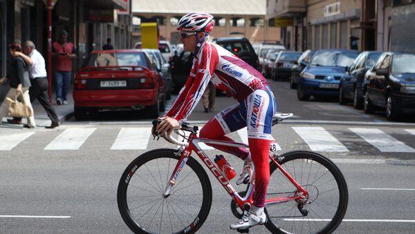 Велогонщик российской команды Катюша Юрий Трофимов. Архивное фото