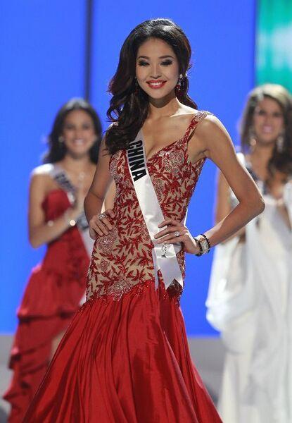 Четвертая вице-мисс конкурса Мисс Вселенная 2011 китаянка Зу Лин Луо-Луо