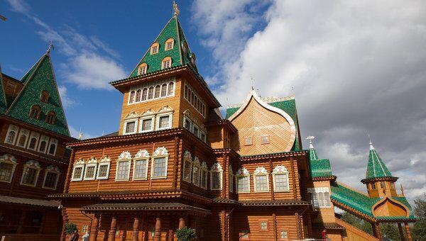 Открытие дворца царя Алексея Михайловича в Коломенском