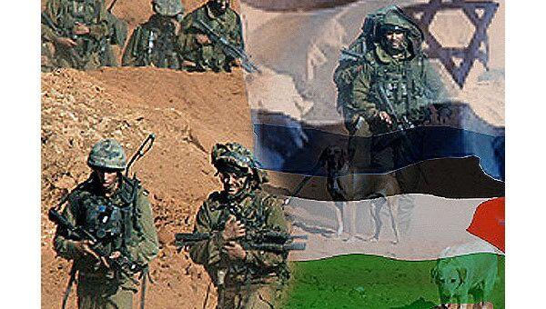 Палестина, Израиль, военные