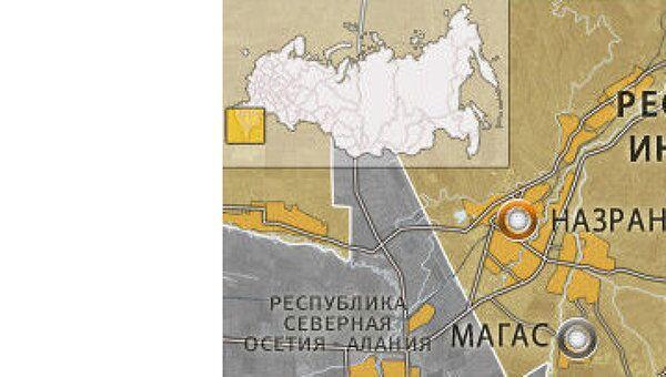 Мощное взрывное устройство сработало в Ингушетии, никто не пострадал