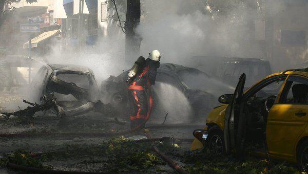 Взрыв прогремел в в районе Кызылай в Анкаре