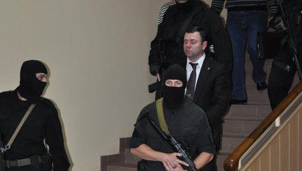 Задержание главы администрации города Смоленска Константина Лазарева