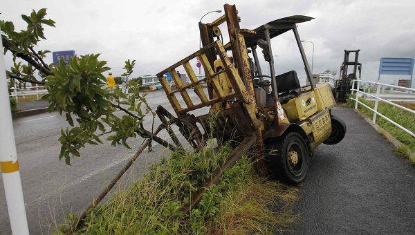 Последствия тайфуна Роке в Японии