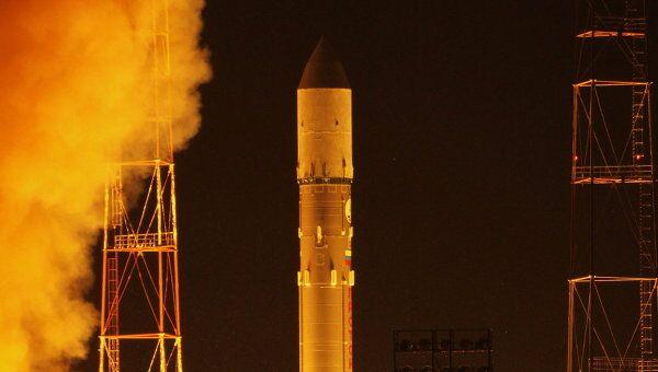 Пуск ракеты Протон-М с военным спутником состоялся на Байконуре
