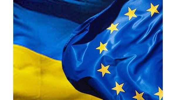 Флаги Украины, ЕС