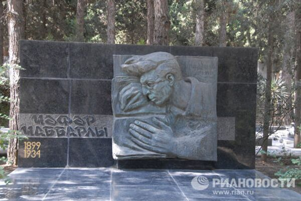 Баку – Аллея почетного захоронения
