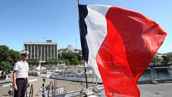 Флаг Франции. Архив