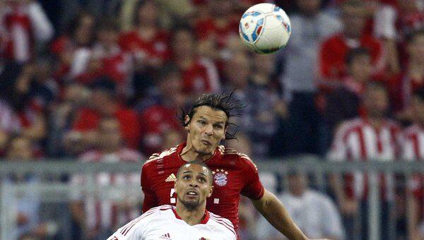 Игровой момент матча Бавария - Байер