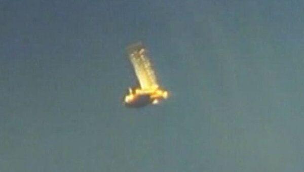Американский спутник UARS упал в Тихий океан