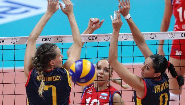 Волейбол. Чемпионат Европы. Матч Россия – Испания