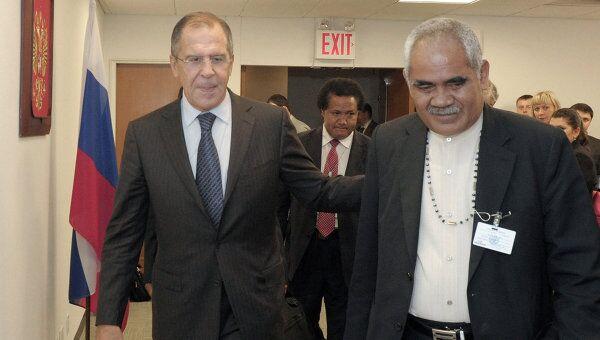 Встречи главы МИД РФ Сергея Лаврова в Нью-Йорке