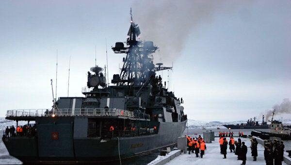 Противолодочный корабль Адмирал Левченко, архивное фото