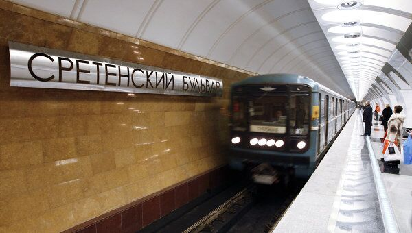 Станция метро Сретенский бульвар. Архив