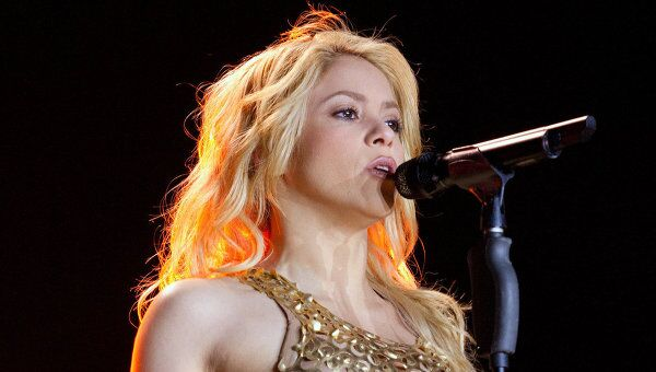 Американская певица Шакира. Архивное фото