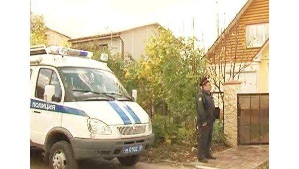 Следователи работают на месте убийства заммэра Подольска Веры Свиридовой